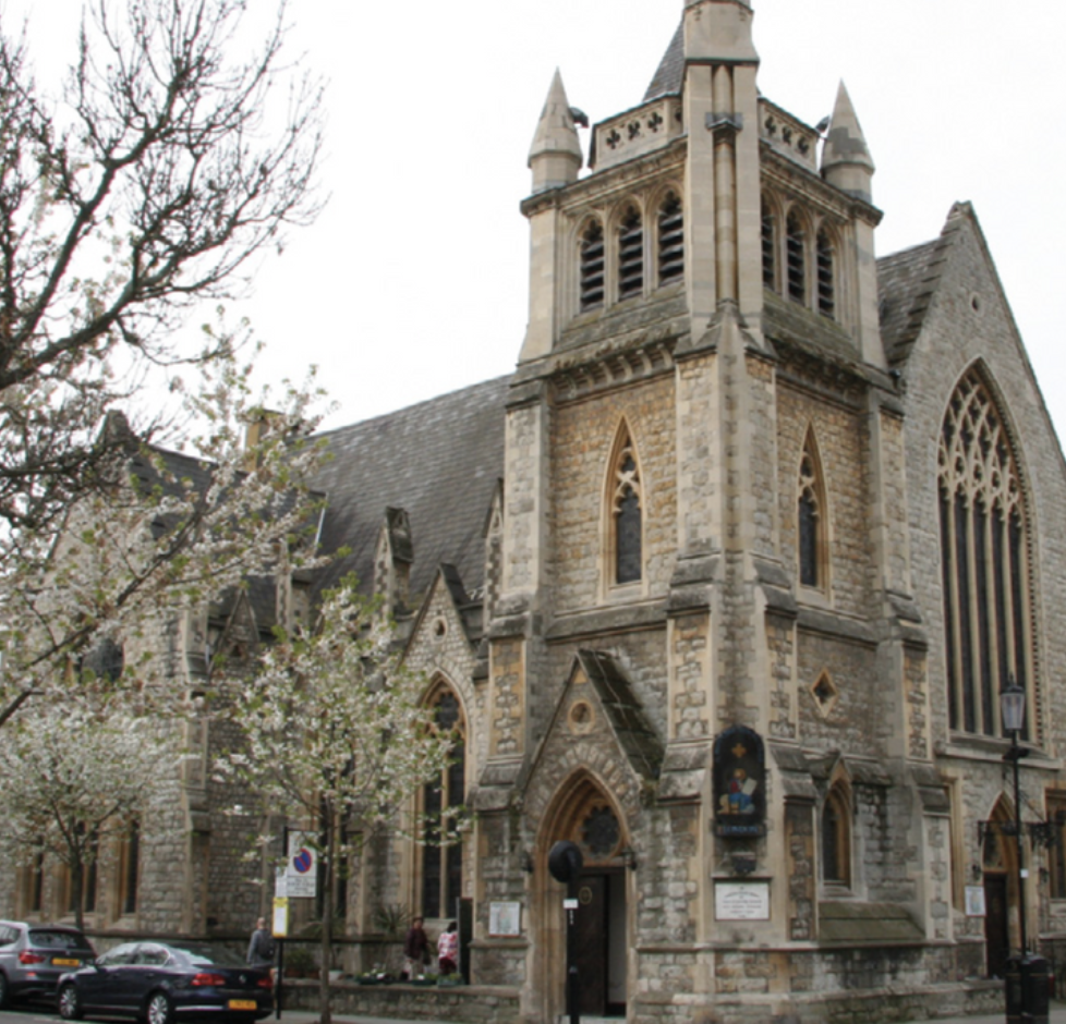 Image of St. Mark's Church in London, courtesy of the Defining and Identifying Middle Eastern Christian Communities in Europe project